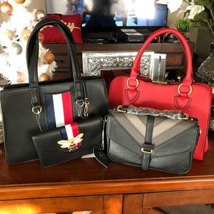 Handbags - 3 new bag shoulder bag satchel